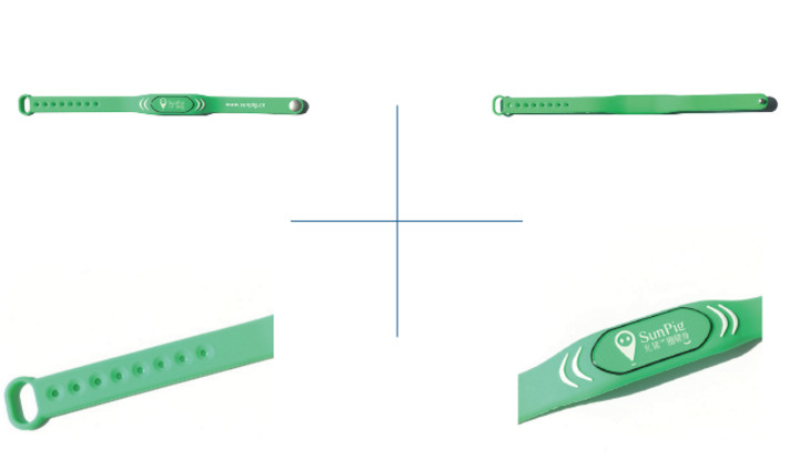 Rfid Adjustable Silicone Wristbands