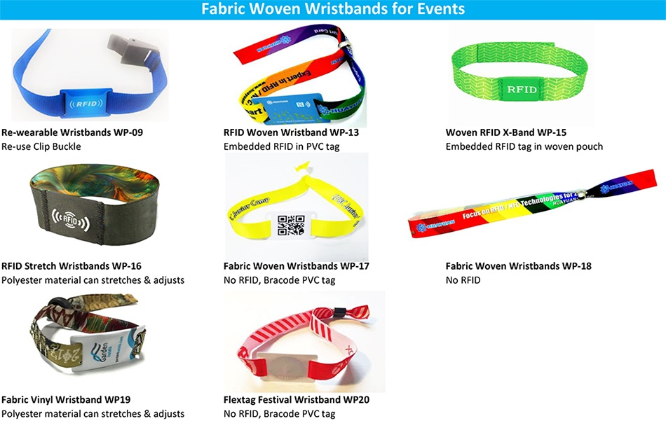 RFID STRETCH WRISTBANDS