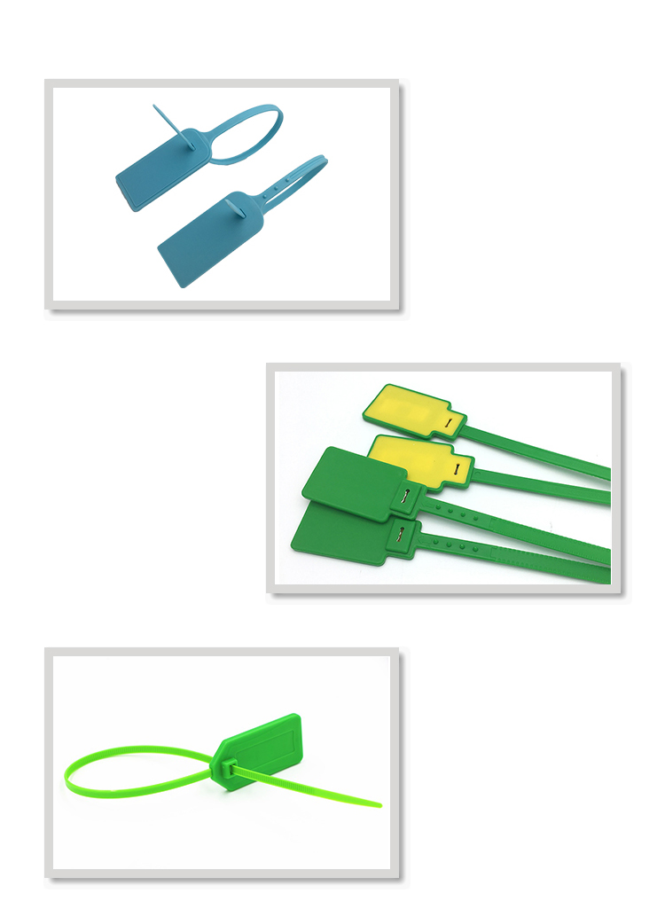 Plastic Cable Tie Tags