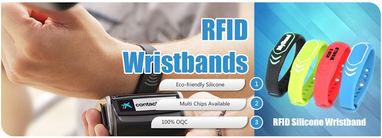 Nylon Silicon Wristbands
