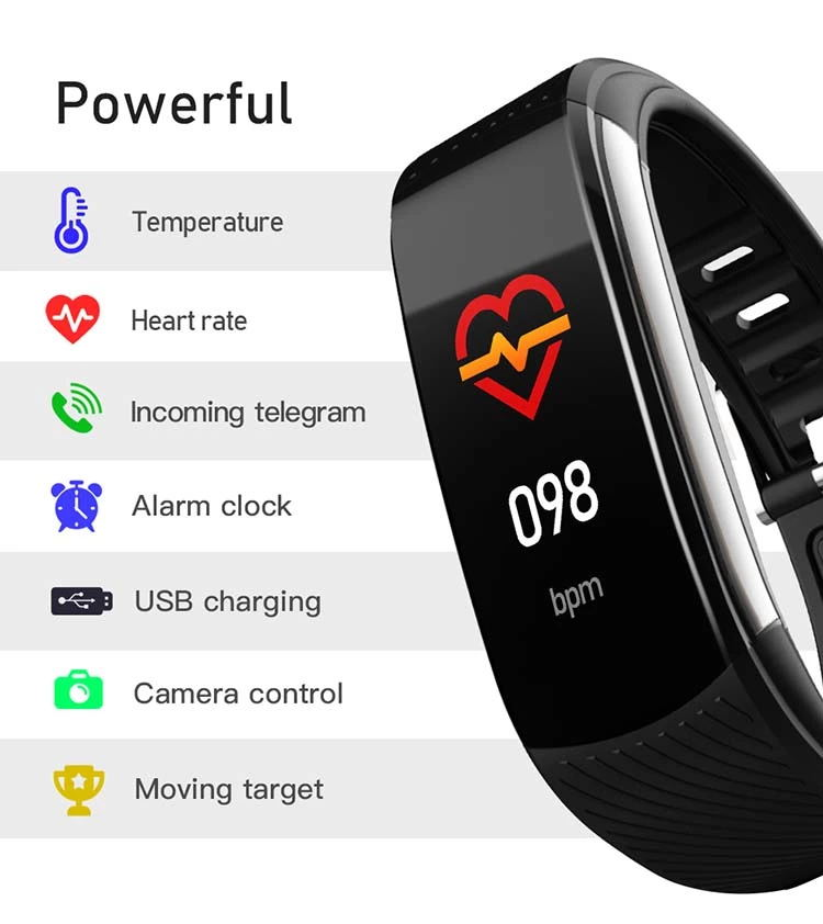 body temperature monitor watch