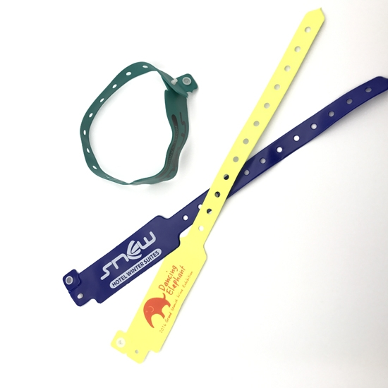 Disposable PVC Wristband For Hospital