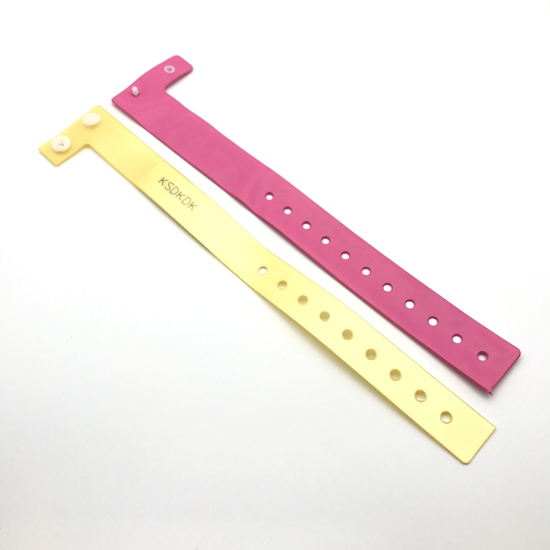 Disposable PVC Festival Wristbands