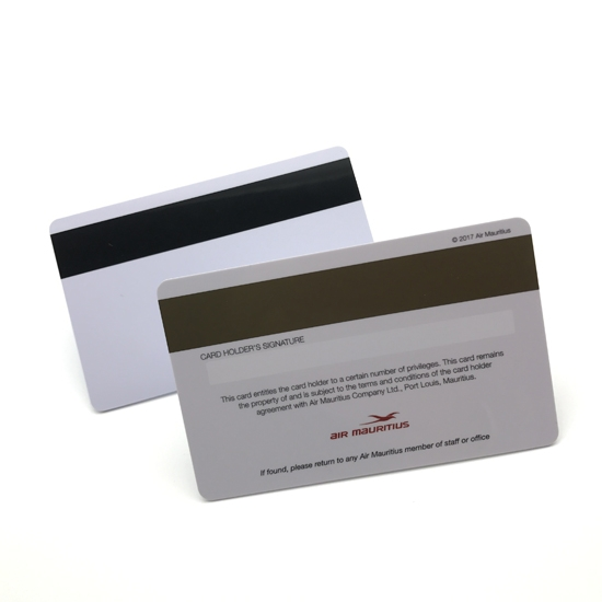 Plastic Card With Colorful Magnetic Stripe