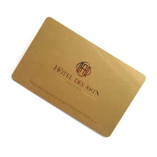 gold Color card