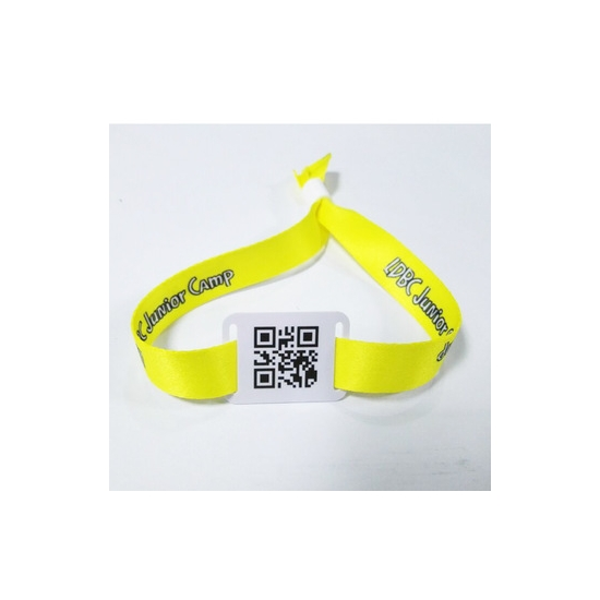 RFID Polyester Wristband