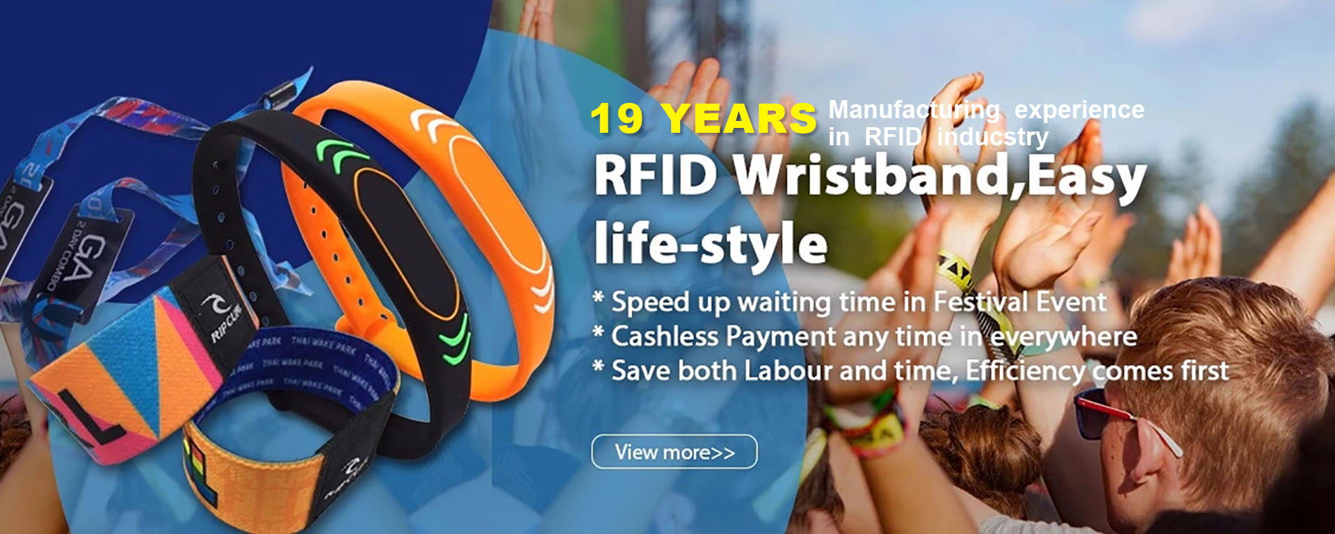 RFID Wriistbands
